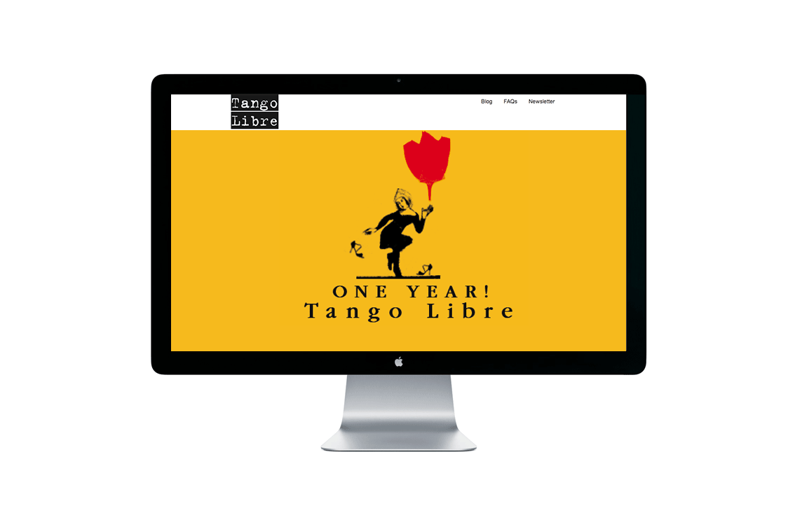 Tango Libre Website Screenshot