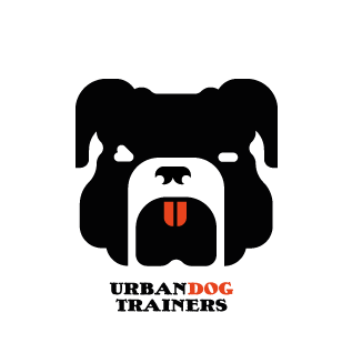 Logo Urban Dog Trainers Vektor Illustration
