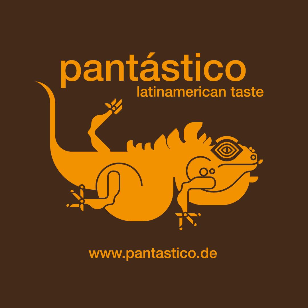 Pantastico Latinamerican taste Logo Illustration